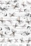 Бабочки и ноты